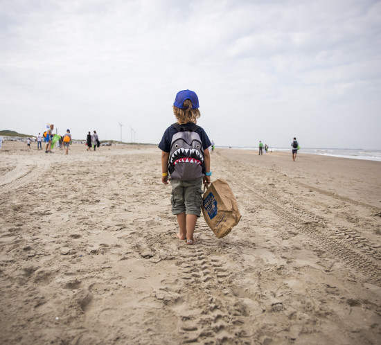 Beach Cleanup Tour 2017 etappe Wijk aan Zee